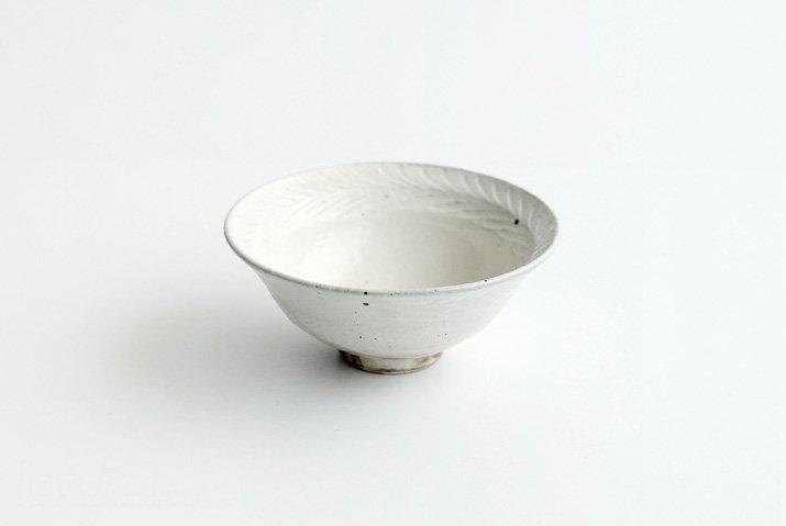 古谷浩一 鉄散リーフ 平めし碗(中)-03