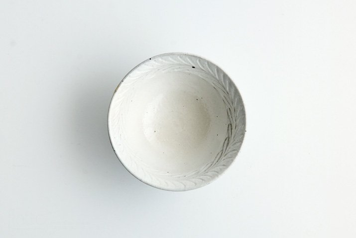 古谷浩一 鉄散リーフ 平めし碗(中)-04