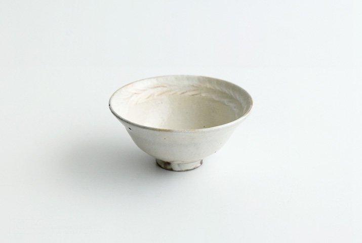 古谷浩一 鉄散リーフ 平めし碗(小)-03