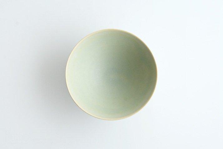 杉原万理江|高台飯碗(黄緑系)-04