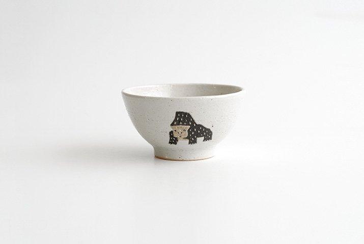 宮崎孝彦 お茶碗(ゴリラ)-04