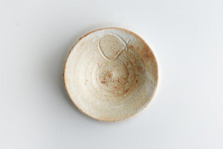 野村佳苗 琵琶緋色 足付グラス-06