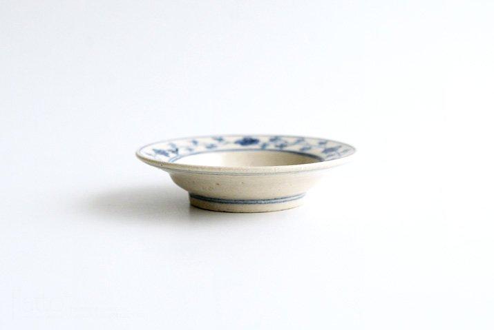 野村佳苗 染付 豆皿-03