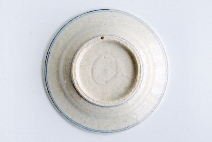 野村佳苗 染付 豆皿-06