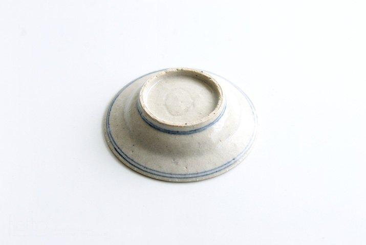 野村佳苗|色絵 豆皿(緑)-04