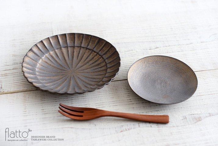 水野幸一|銅彩釉 小皿-04