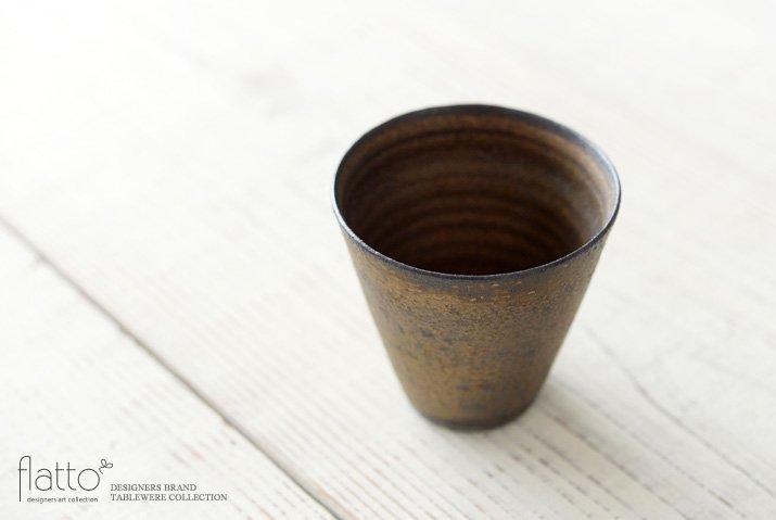 銅彩釉 カップM 作家「水野幸一」-02