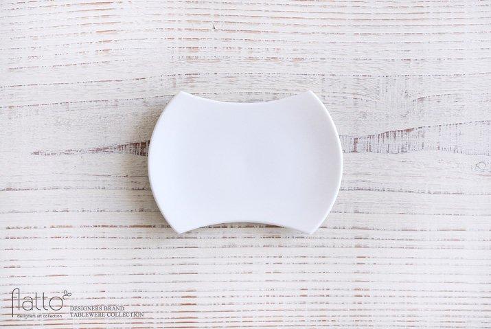 白磁豆皿 作家「東一仁」