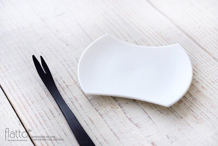 白磁豆皿 作家「東一仁」-02