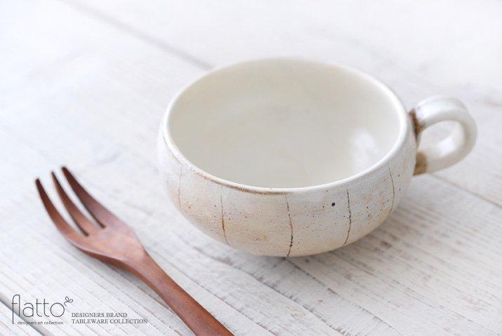 古谷浩一|たて鉄線 手付きスープカップ(丸)-02