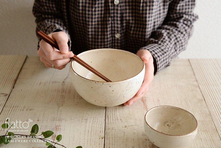 櫻井靖泰|生粉引 どんぶり-04