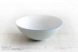 水野幸一|古白磁ツートンボール(小・外青内白)