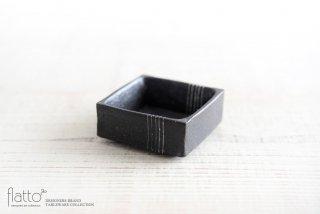 奥田章|黒十草 角小鉢M