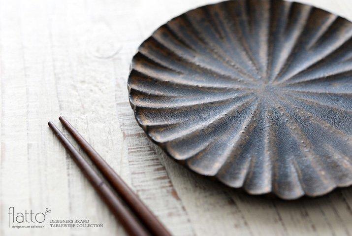 水野幸一|銅彩釉モール小皿-02