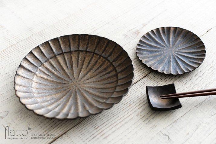 水野幸一|銅彩釉モール小皿-04