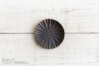 水野幸一|銅彩釉モール小皿