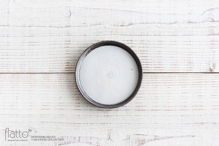 奥田章|ケーキ皿12cm(白)