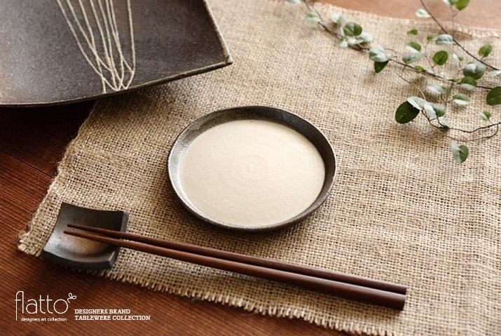 奥田章|ケーキ皿12cm(白)-03