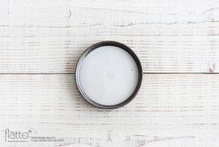 奥田章|ケーキ皿12cm(白)|小皿・豆皿