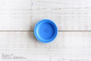 東一仁|ブルー リムプレート3寸