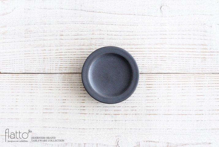 東一仁|ブラック リムプレート3寸
