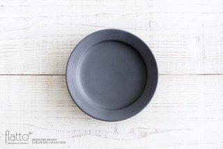 東一仁|ブラック リムプレート6寸