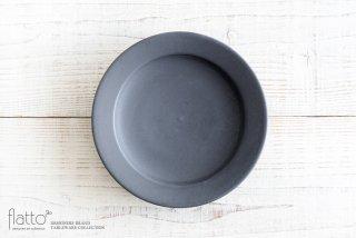 東一仁|ブラック リムプレート7寸