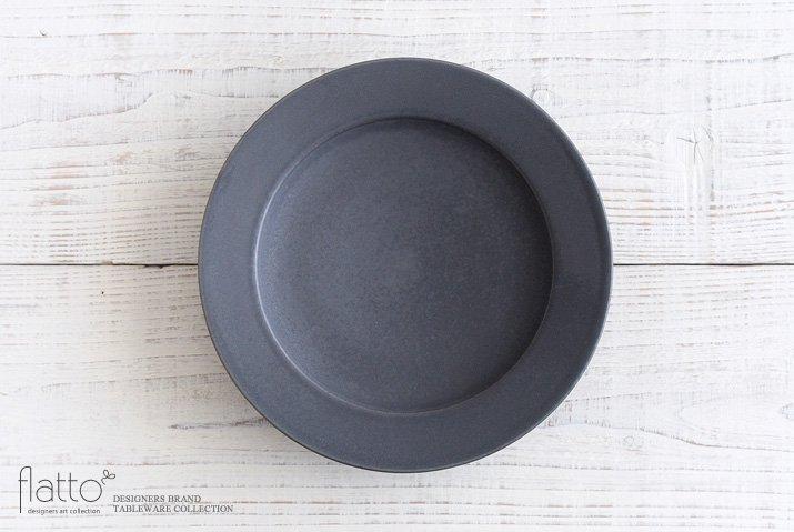 東一仁|ブラック リムプレート8寸