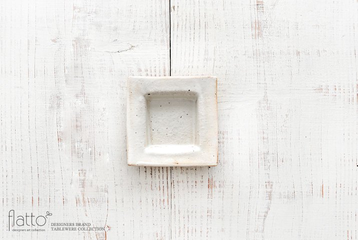 鉄散 押型正角豆皿 作家「古谷浩一」
