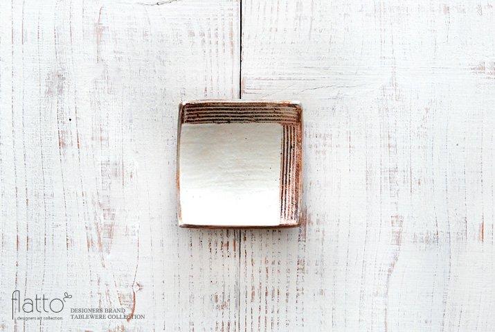 古谷浩一|L彫 四方豆皿