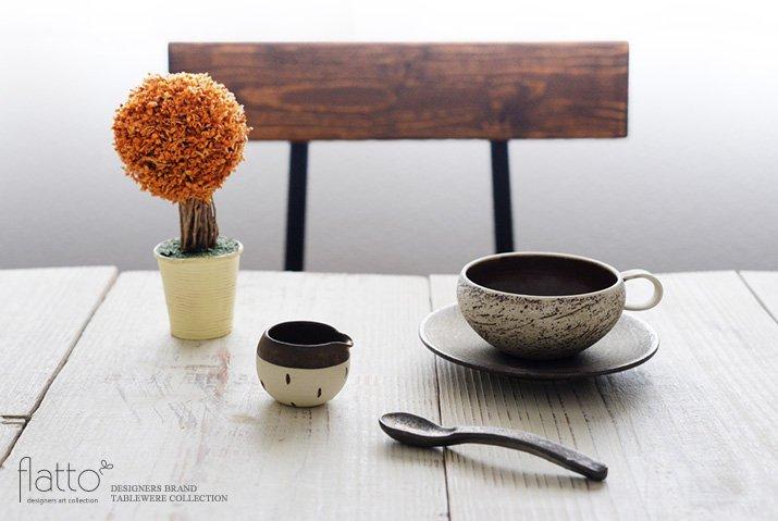 竹口要 ミルクピッチャー(マル・ドット・砂金)-03