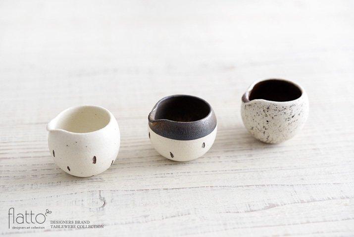竹口要 ミルクピッチャー(マル・ドット・砂金)-04