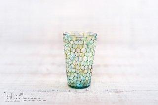 吉村桂子|イロアミショットグラス(YGB)