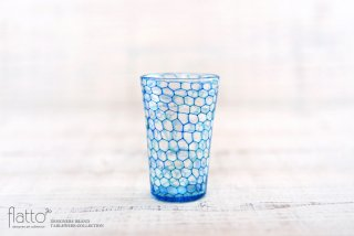 吉村桂子|イロアミショットグラス(B)|ガラス