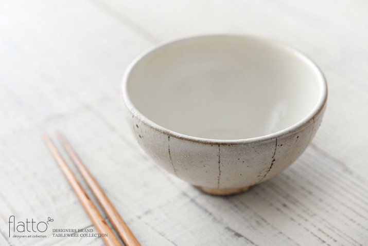 たて鉄線 めし碗(小) 作家「古谷浩一」-02