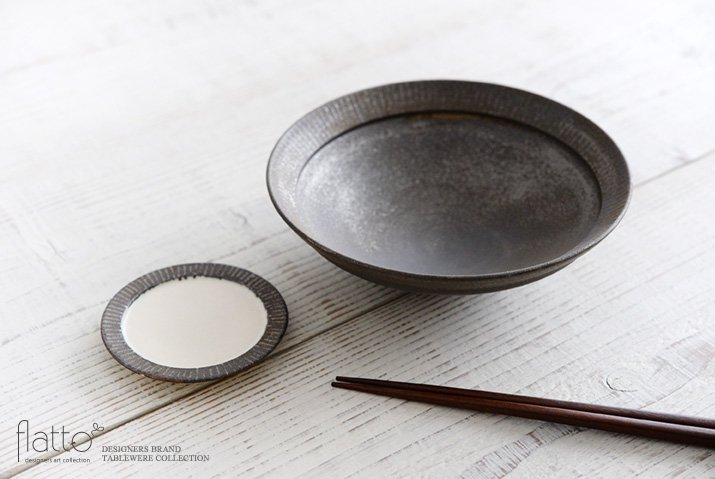 shiro-kuro 6寸鉢(黒) 作家「トキノハ」-04