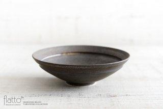shiro-kuro 6寸鉢(黒) 作家「トキノハ」