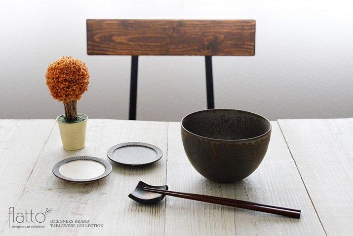 トキノハ|shiro-kuro 碗(6・黒)-03