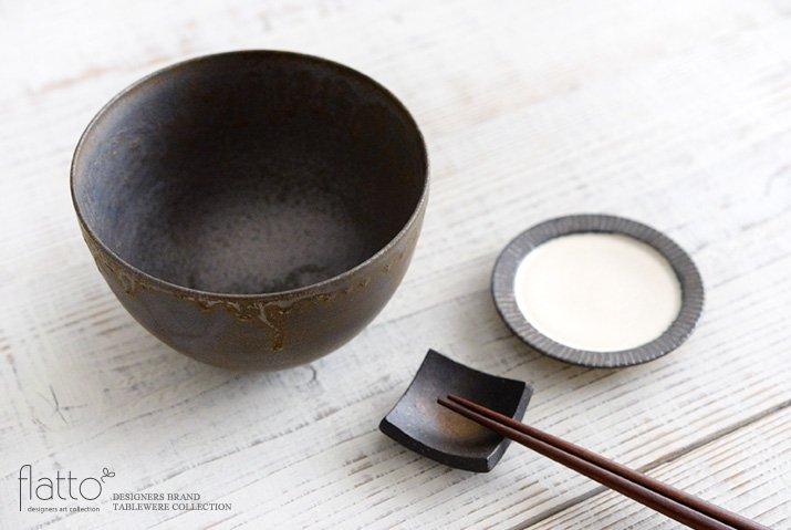 トキノハ|shiro-kuro 碗(6・黒)-04
