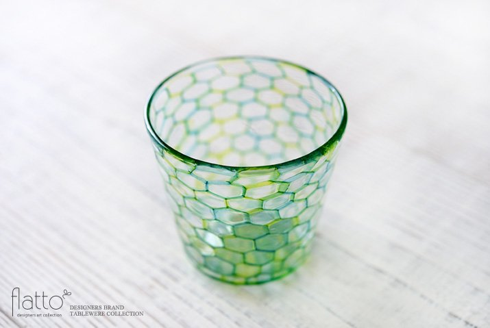 吉村桂子|イロアミグラス(BG)-02