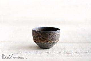 銅彩釉カップ 作家「水野幸一」