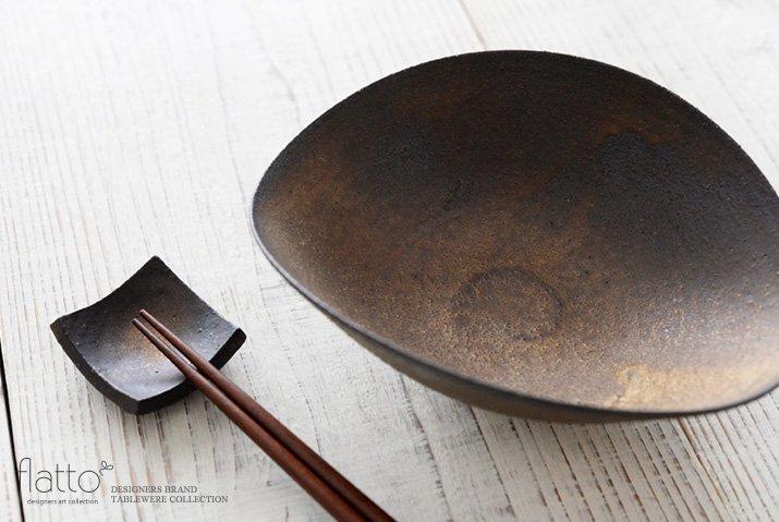 水野幸一|銅彩釉ひずみ鉢(小)-02