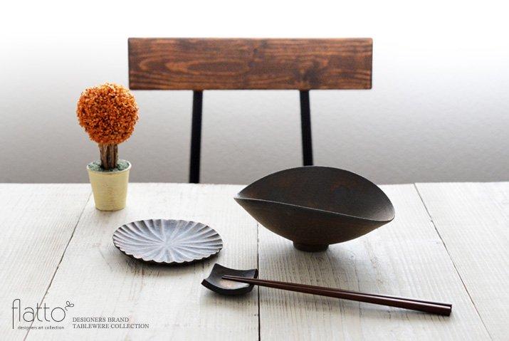 水野幸一|銅彩釉ひずみ鉢(小)-03