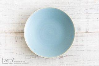 トキノハ|calm 24cmプレート(ライトブルー)
