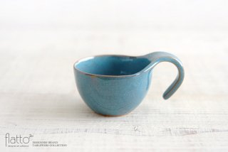 テトラ コーヒーカップ(青) 作家「トキノハ」