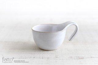 テトラ コーヒーカップ(白) 作家「トキノハ」