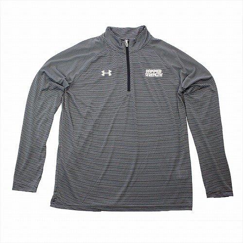 TEAM UA ジップロングTシャツ