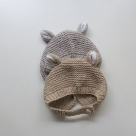 <img class='new_mark_img1' src='https://img.shop-pro.jp/img/new/icons53.gif' style='border:none;display:inline;margin:0px;padding:0px;width:auto;' />hp mini bear baby knit bonnet