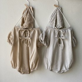 Back ribon rompers/2col