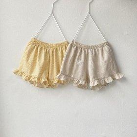 ALADIN-Half-pants Linen-cotton series